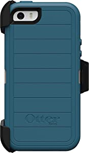 OtterBox Defender Series Case & Holster for iPhone 5 / 5S / SE - Big SUR (Pale Beige/Corsair)