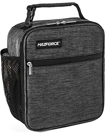 0ec473680c MAZFORCE Original Lunch Bag Insulated Lunch Box - Tough   Spacious Adult  Lunchbox to Seize Your