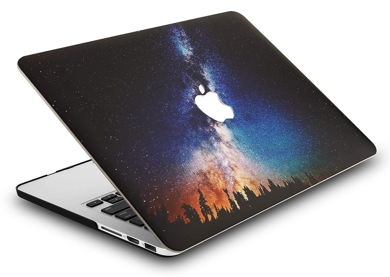 KECC MacBook PRO Retina 13 Pollici Custodia Case Rigida Cover Protettiva per Vecchio MacBook PRO 13.3 Retina {A1502//A1425} Wolf
