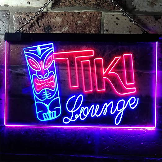 Türtapete Live Music türposter Self Adhesive Neon Light Bricks Bar