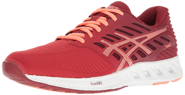 ASICS Women's fuzeX Running Shoe B01GU3XS54 10 B(M) US Oat Red/Flash Coral/True Red