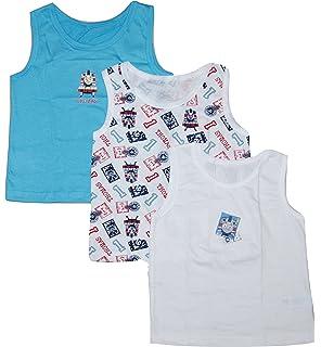 0f1e0f35e SocksAndTights 5-Pack of Boys 100% Cotton Vests  Amazon.co.uk  Clothing