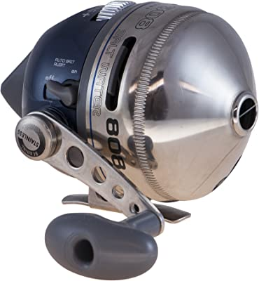 Zebco 808 Saltwater Grade Spincast Fishing Reel with 20 LB Line