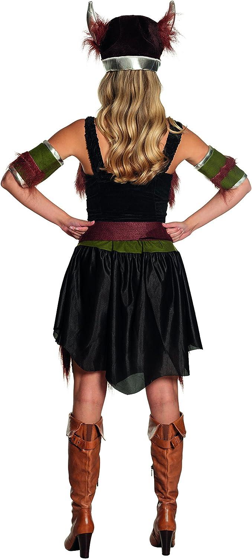 Boland - Disfraz de vikingo para mujer, talla 36 (87740): Amazon ...