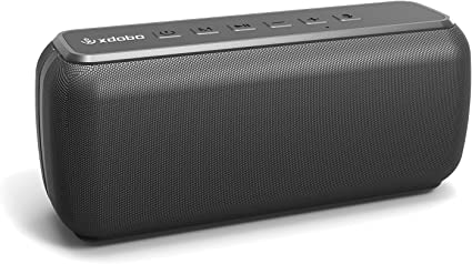 Amazon Com Xdobo Waterproof Portable Wireless Bluetooth Speaker 60w Outdoor Speakers 360 Hd Surround Sound Rich Stereo Bass Bluetooth Speaker Audiophile Speakers With Subwoofer Tws Voice Assistant Home Audio Theater