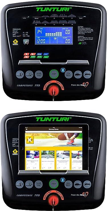Tunturi T40 Treadmill Compentence, Unisex-Adult, Black, una Talla ...