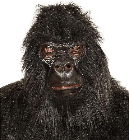 WIDMANN - Máscara para Disfraz de Adulto Gorila (1119): Amazon.es ...