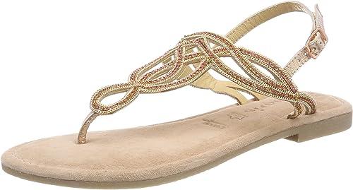 Tamaris Women's's 28115 Sling Back Sandals, Pink (Rose