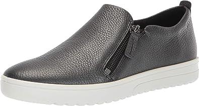 Fara Zip Sneaker Black/Dark Shoes