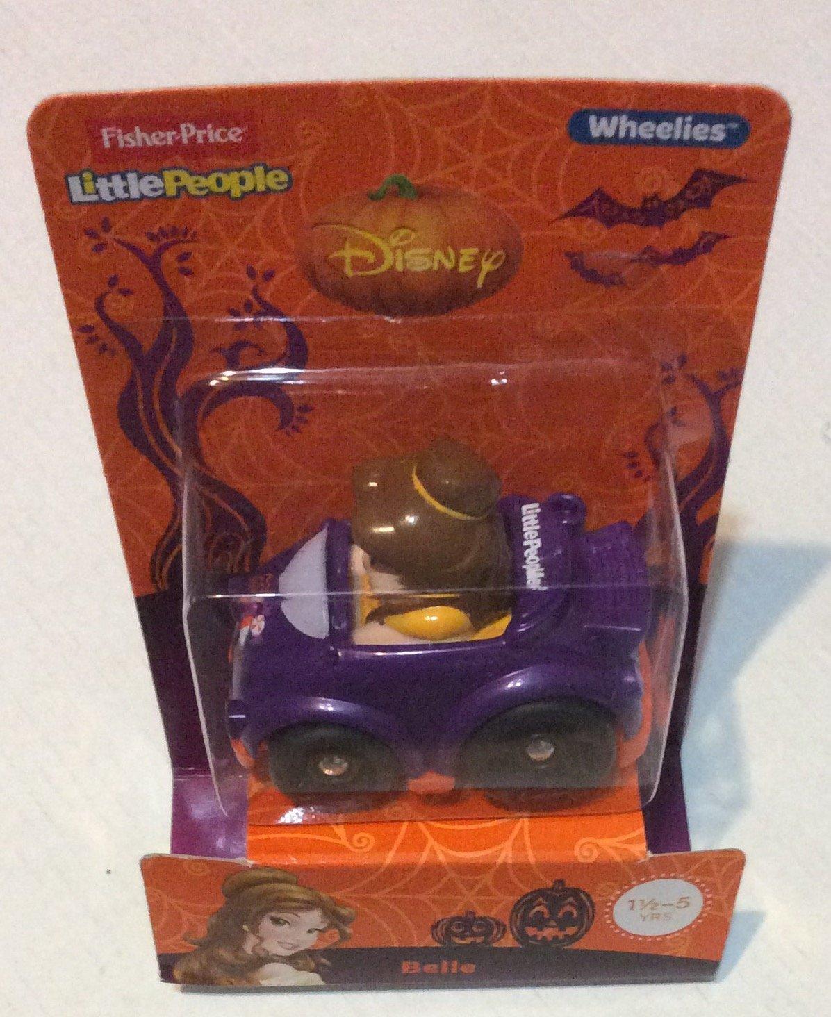 Fisher Price Little People Disney Wheelies  Belle  Halloween