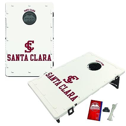 8 Santa Clara Broncos Regulation All Weather Cornhole Bags