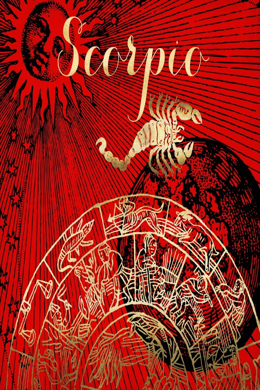 2019 Daily Planner Scorpio Symbol Astrology Zodiac Sign
