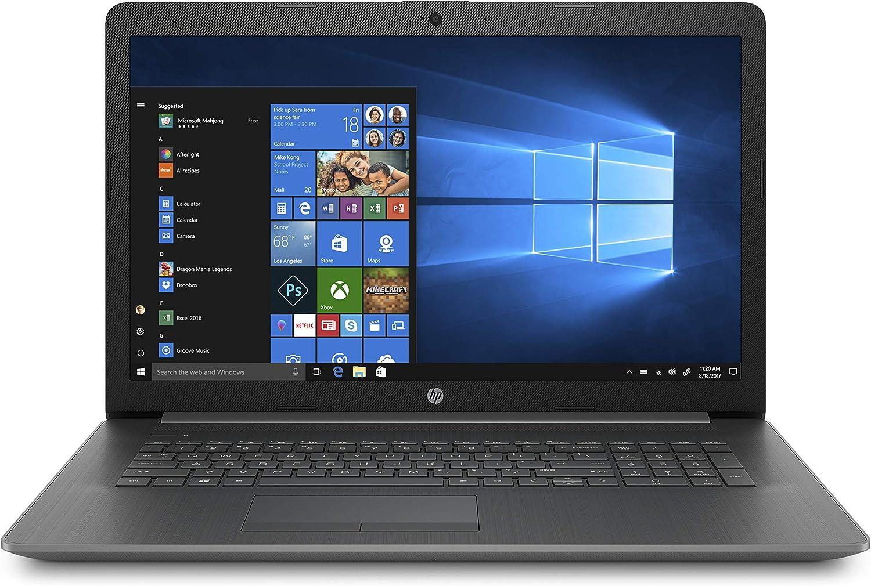 HP 17-inch Laptop, AMD A9-9425 Processor, 4 GB RAM, 1 TB Hard Drive, Windows 10 Home (17-ca0020nr, Chalkboard Gray)