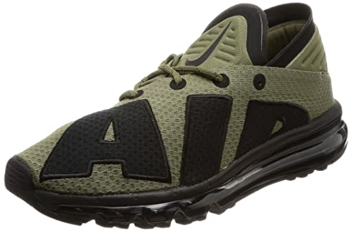 Nike AIR MAX Flair Medium Olive Green Black Wolf Grey 942236
