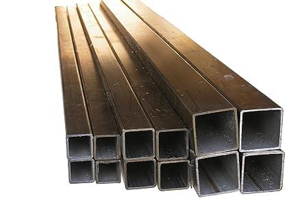 Tubo cuadrado acero inoxidable 304 pulido 25 mm, espesor 2 ...