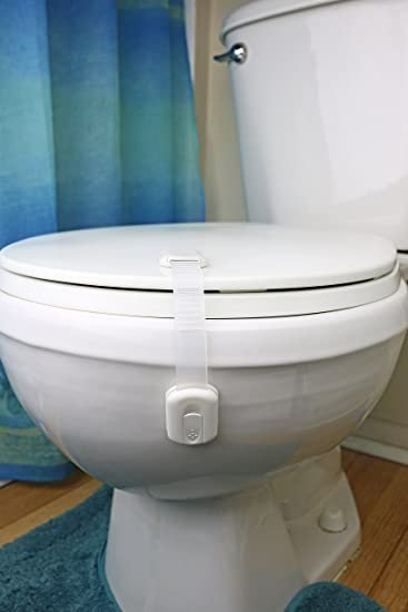 Amazoncom  Child Locks For Toilet Pack Of  Child Proofing - Toilet seat with no lid