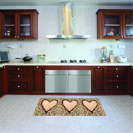 Tappeto cucina lavabile in lavatrice, passatoia cucina, 52 cm x 120 ...