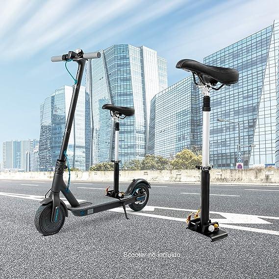 SmartGyro Xtreme Seat - Asiento para patín eléctrico, compatible con Xiaomi M365 y SmartGyro Xtreme City