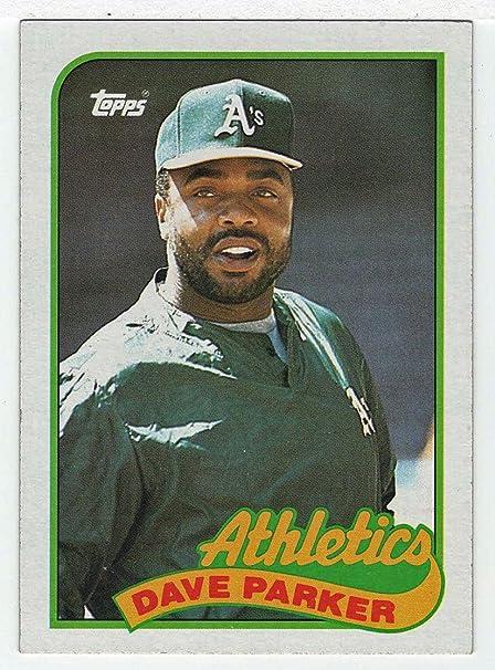 Amazoncom Dave Parker Baseball Card 1989 Topps 475 Nm