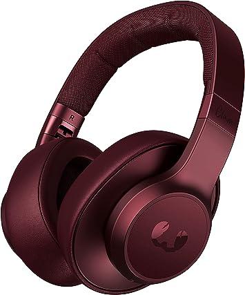 Auriculares Fresh n Rebel Clam ANC Ruby Red | Auriculares Bluetooth para colocar sobre las orejas con reducción activa de ruido: Amazon.es: Electrónica