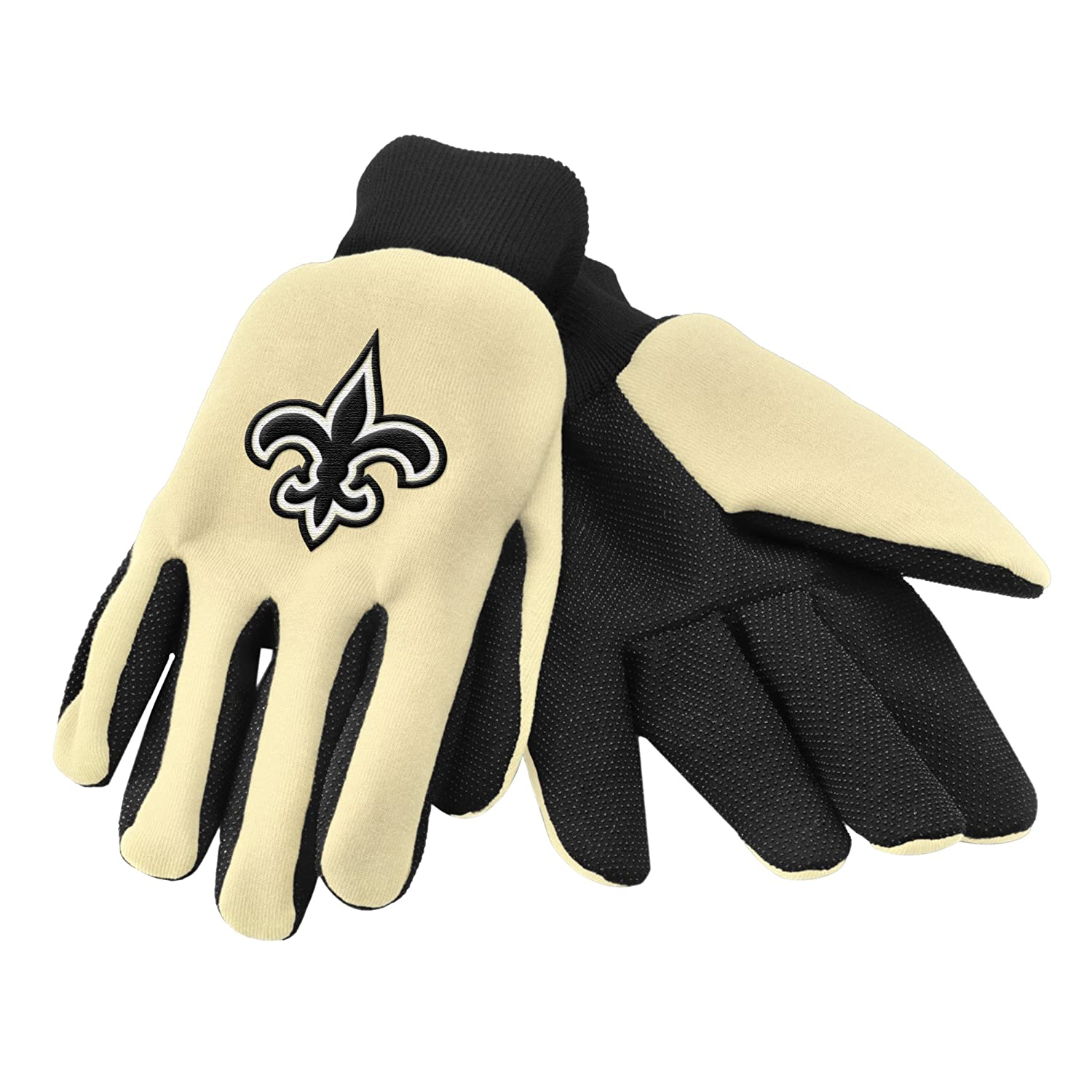 Forever Collectibles NFL Colored Palmグローブ New Orleans Saints B00X2RLJ6W