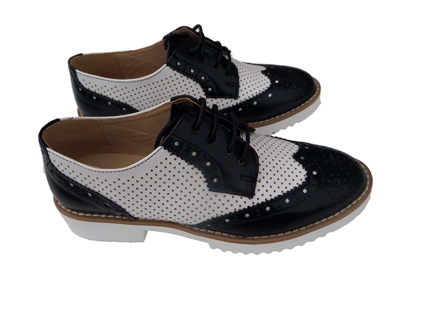 1940s Style Shoes Womens Wanted Oxfords Napoli
