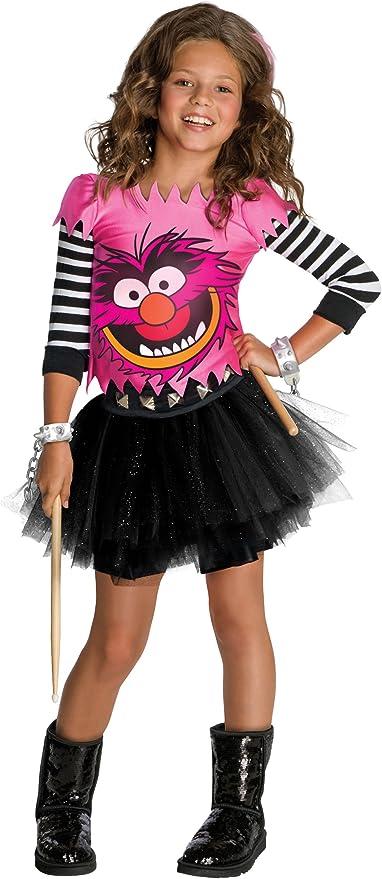 Amazon.com: The Muppets Animal Disfraz De Las Niñas, L, Un ...
