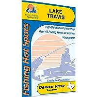Travis Fishing Map, Lake