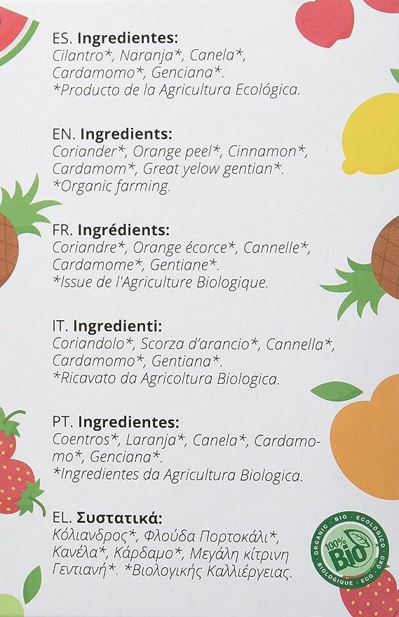 ArtemísBio Tisana Bio Linea Kids Apetito - 5 Paquetes de 20 unidades: Amazon.es: Alimentación y bebidas