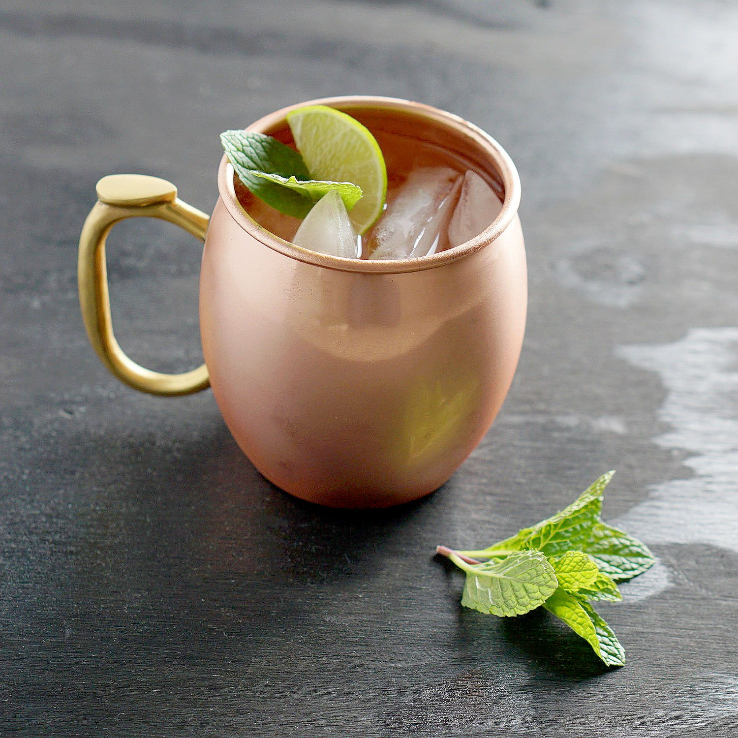 Premium 100/% Pure Copper 16oz Hammered Barware Cup Solid Copper Moscow Mule Mug