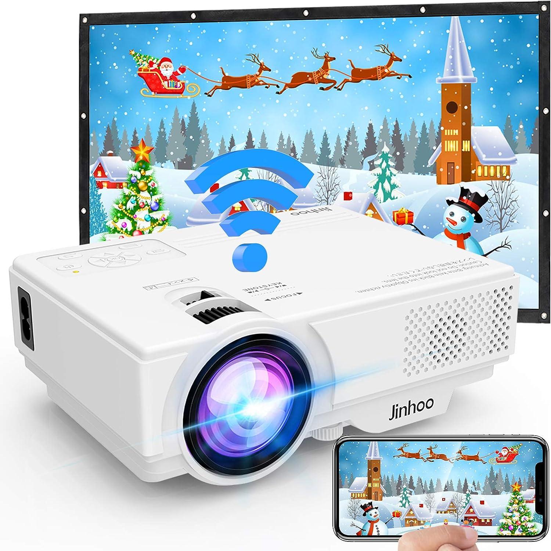 Beamer Wireless Beamer 5000 Lumen Unterstützt 1080p Computer Zubehör