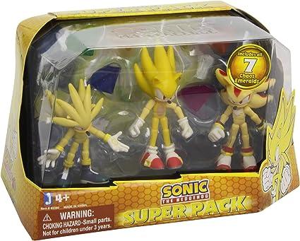 "Jazwares Sonic The Hedgehog Sonic /""Modern Collector/'s Set Figures New Rare"