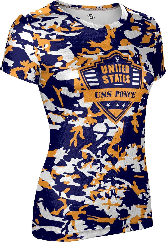 ProSphere Women's USS Ponce Military Camo Tech Tee