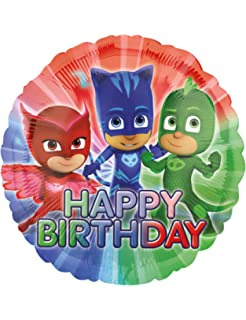 Anagram 34676 Disney Pj Masks Balloon Bouquet Multicolored