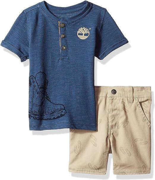 Timberland Baby 2 Piece Shirt /& Shorts Set