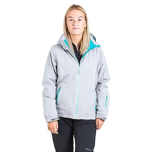 55f61a975680 Trespass Tyrona Hooded Stretch Womens Ski Jacket Snowboard Windproof Warm  Coat