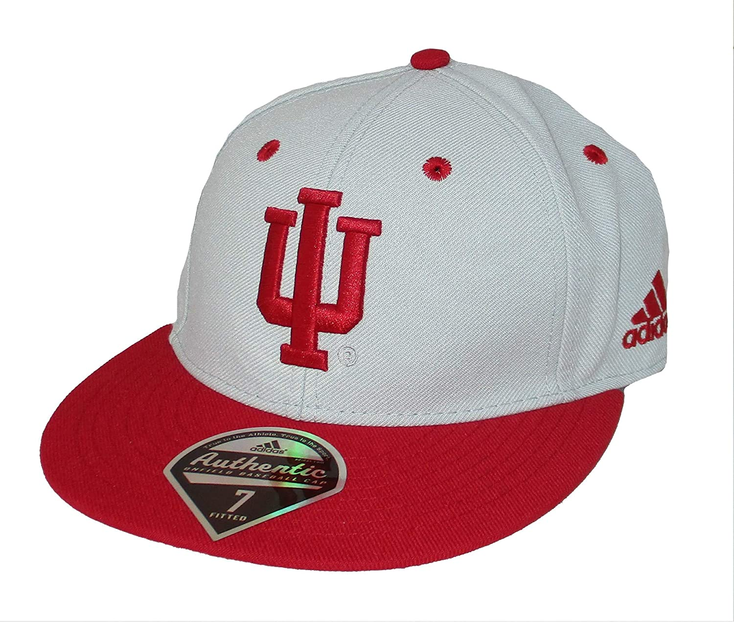 2c18b1cec7b914 ... free shipping amazon adidas indiana hoosiers fitted size 7 on field baseball  cap hat sports outdoors