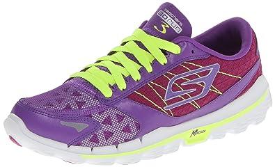 skechers go run 3. skechers performance women\u0027s go run 3 running shoe,purple/lime,5.5