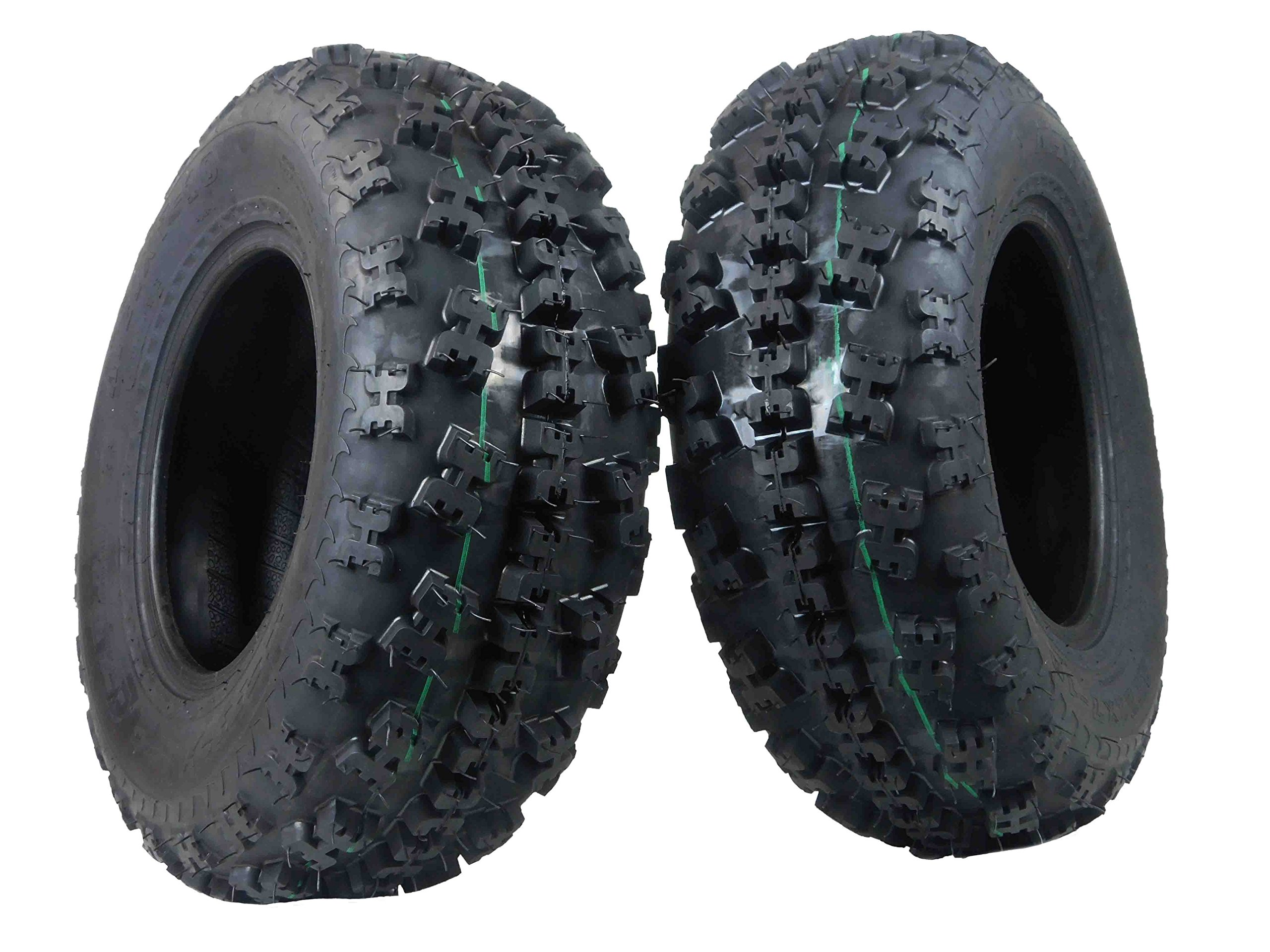 MASSFX Front Tire Set (2x) 4ply 21X7-10 ATV Tires 21 7 10 21x7x10 Pair