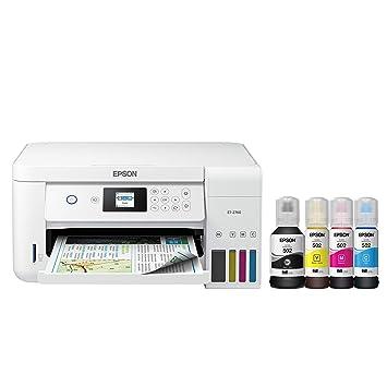 Epson EcoTank ET-2760 Impresora inalámbrica a Color Todo en uno ...