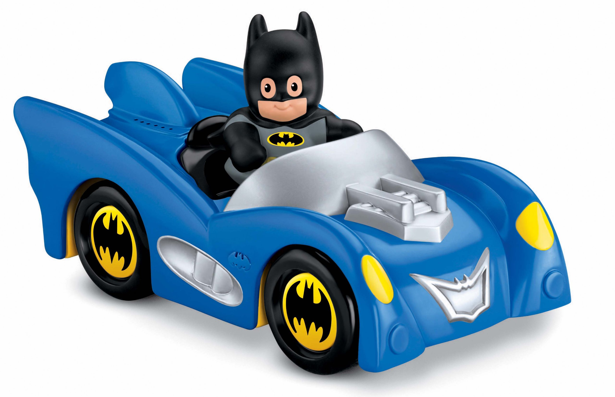 Fisher-Price Little People DC Super Friends Batmobile