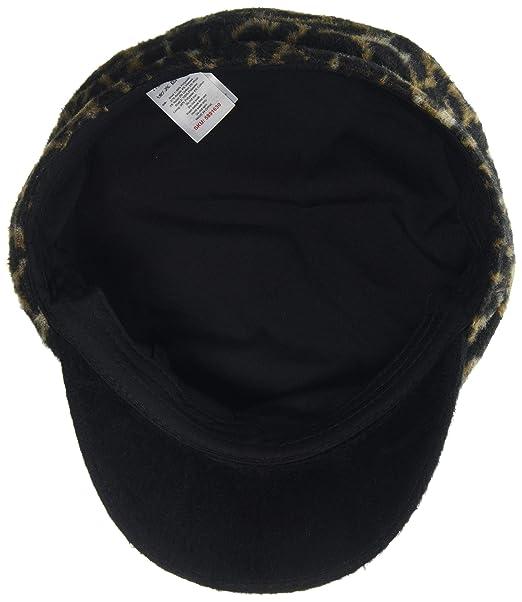 4b14b5571b24d New Look Brushed Leopard Baker Boy 5891583