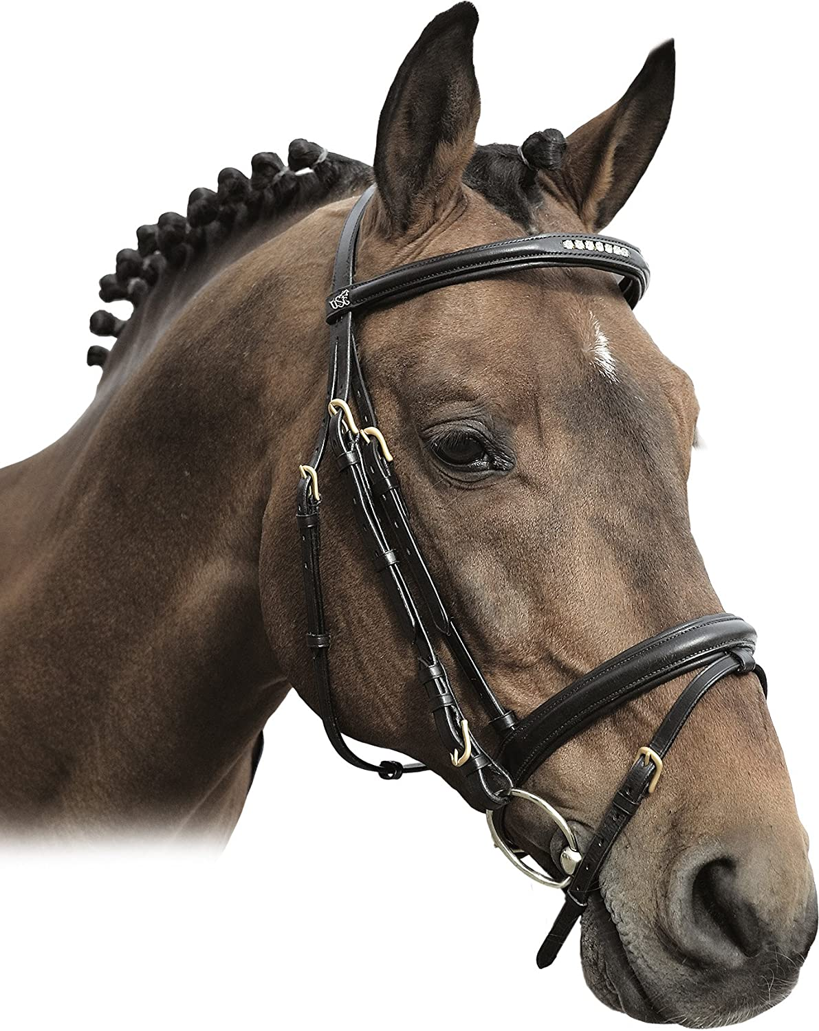 Full Silver USG Bridle Perfect Cheek Strap Replacement Piece