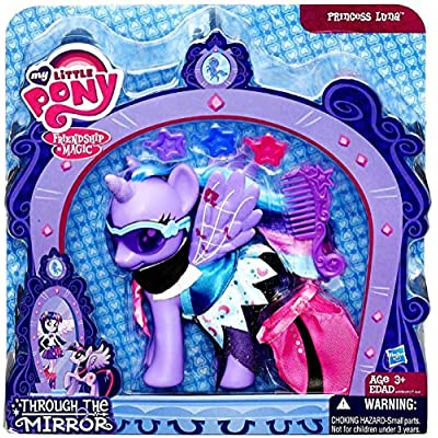 Hasbro My Little Pony Friendship is Magic Through the Mirror Princess Luna Figure: Toys & Games