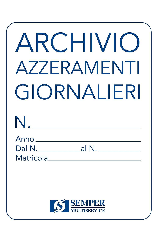 Semper SEZA0018A Cartella Archivio Azzeramenti di Cassa Buffetti SEZA00180