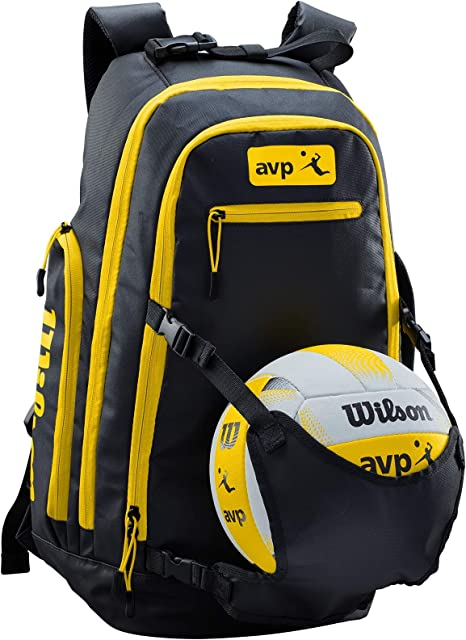 Wilson WTH121190 Mochila para Voleibol Playa AVP Bolsillo para ...
