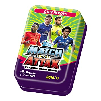 Match Attax Lata con Cartas Temporada 2016/17 de EPL: Amazon ...