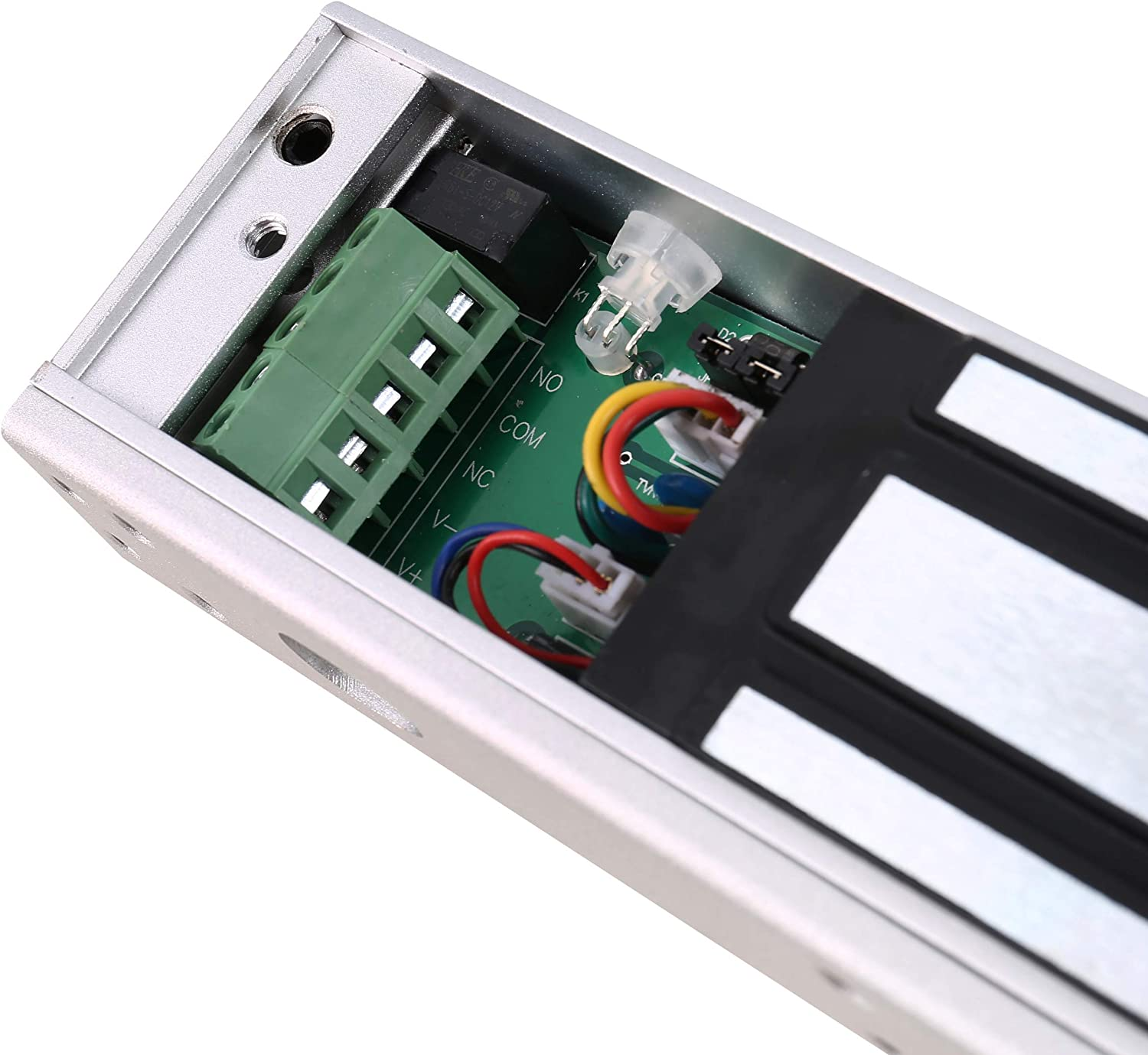UHPPOTE UL Listed 280KG Holding Force Electric Magnetic Door Lock Fail Safe for Single Door Access Control