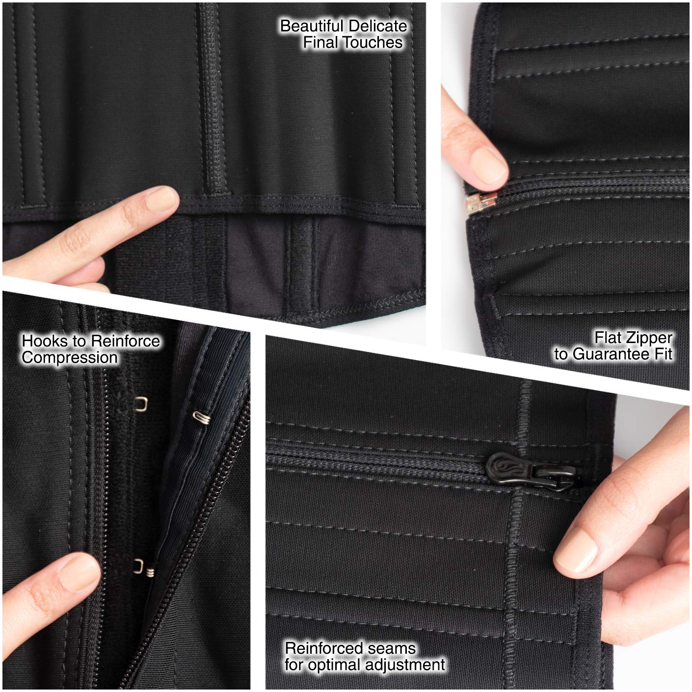 Salome 0315-1 Waist Shaper Flat Tummy Control Fajas Colombianas Cinturillas