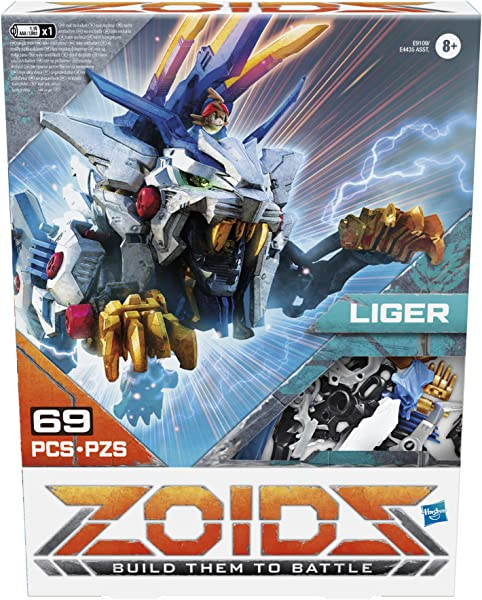 Zoids Giga Battlers Liger action figure collectible toy for kids in package